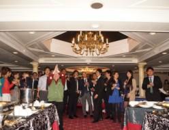 豪華巨大船舶で某大手企業様の 250名様懇親会